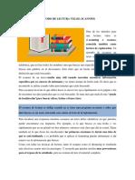 MÉTODO de LECTURA VELOZ Scanning Ing Informatica
