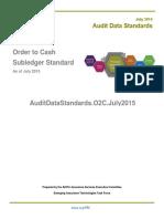 AuditDataStandards.O2C.July2015