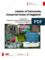 Documentation of Community Conserved Areas of Nagaland Final