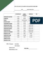 Tabela Com Idade Cronológica Para Aplicação Das Provas Diagnóstico Operatório