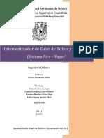 Reporte 3 Intercambiador de Tubos y Coraza II(1)