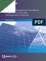 SCSI FM Handbook Guidance Note