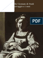 """""""un quadro ch'io gli dipingo"""". Nuova luce su Caravaggio per Ottavio Costa, dalla Giuditta al San Giovanni Battista"""