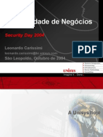 Leonardo Carissimi Security Day