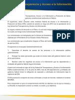 Instituciones Transparencia Acceso Informacion