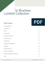 Udemi for Business Course List