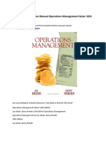 Test Bank Solution Manual Operations Management Heizer 10th Tenth Edition.pdf