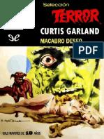 Macabro Deseo - Curtis Garland