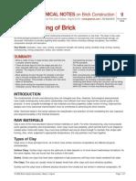 Types of brick