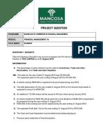 371FinancialManagement1AProjectQuestion
