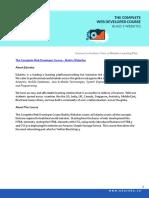 The Complete WebDeveloper Course - Build 5 Websites_Course Curriculum
