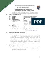 SILABO  Dirección de empresas constructoras.pdf