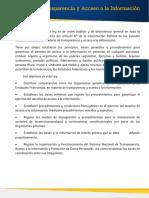 Ley General Transparencia AccesoInformacion Publica