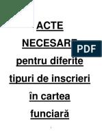 ACTE Necsare Intabularii