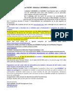 Treinamentos Hucmi - Módulos i (Hcmbok) e II (Hcmp)