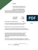 Financiamiento Corto Plazo Ejercicio 1 y 2