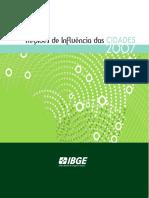 IBGE - Regiões de Influência das cidades 2007.pdf