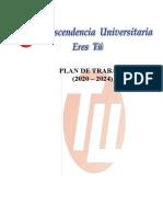 1. Plan de Trabajo Trascendencia Universitaria