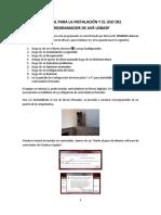 Tutorial para la instalación y el uso del programador de AVR USBASP.docx