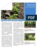 Planting In Architecture