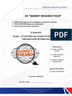 Propuesta de Market Research Tour