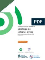 Dc Mantenimiento de Automotores Mecanico de Sistemas Airbag