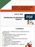 Conformación y Organización de La Brigada de Emergencia