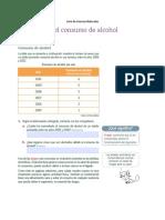 Guía de Ciencias Naturales Cuarto Alcoholismo