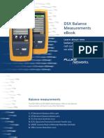 Fluke - Comprobacion Cableado Dsx Balance Mesurements 7002840-A-En