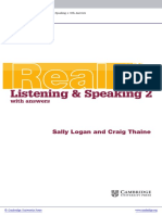 Real Listening and Speaking 2