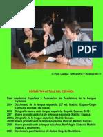 Ortografía y Redacción Clase 1A (Paúl Llaque)