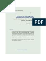 Do étnico ao pan-étnico negociando e perfomatizando identidades indígenas.pdf