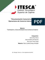 Documentación Comercial en Las Operaciones de Comercio Internacional