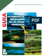 Procesos Extensivos de Depuracion de Las Aguas Residuales