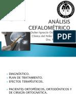 ANALISIS CEFALOMÉTRICO diseño