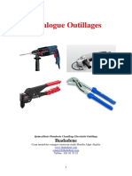 Catalogue Outillages