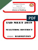 District Meet Cover Folder 1