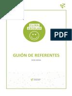 02 - Guion de Referentes Ni - Clima Escolar - Conciencia Emocional - Modulo 2
