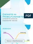 Dienste in Mobilfunknetzen Technische Aspekte