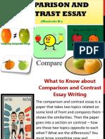 1st Part Group 2 Report Comparison & Contrast