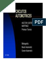 Circuitos automotrices