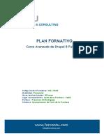 Forcontu Plan Formativo Curso Avanzado Drupal8 FullStack Conil