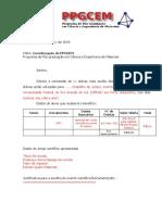 Modelo Oficio Insc Premio Producao Cientifica