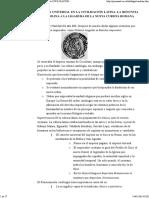Una Nueva Escritura Universal en La Civilización Latina