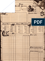 add feuille personnage 2 eme édition