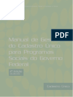 Manual Gestao Cad Unico Combate a Fome