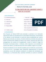 AÑO DE LA LUCHA CONTRA LA CORRUPCIÓN Y LA IMPUNIDAD.docx PROYECTO DE PASTORAL.docx