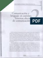 Comunicacion y Lenguaje en Autismo