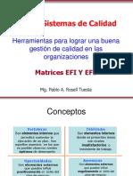Matrices EFI y EFE Herramientas Para Lograr Una Buena Gestión