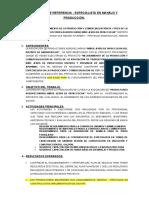 TDR Pataccocha
